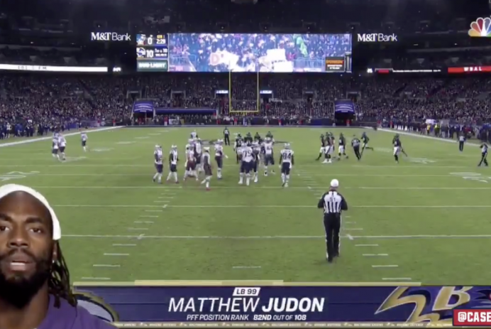 "Matthew Judon ""Sunday Night Football"" intro"