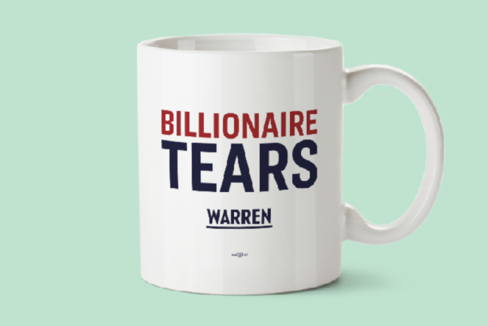 """""""Billionaire Tears"""" mug"""