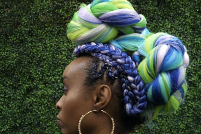 Hair braiding competition