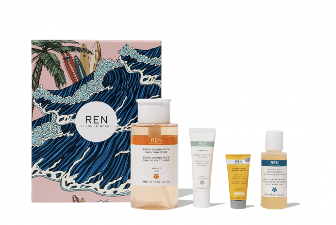 Ren Clean Skincare Heroes Face & Body Set