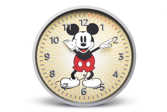 Disney's Mickey Mouse edition of the Echo Wall Clock