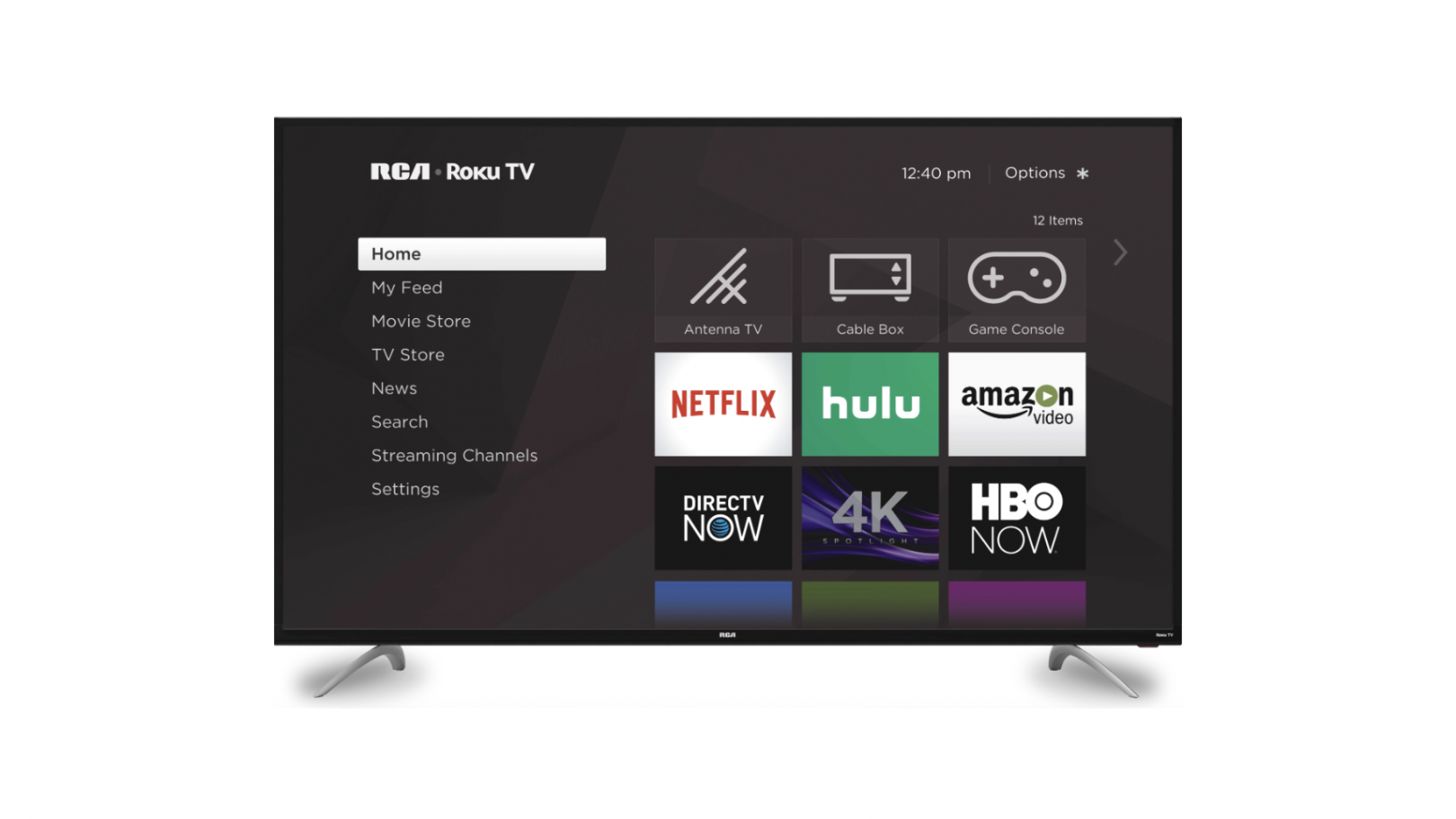 RCA 65-inch 4k ultra HD Roku smart LED TV