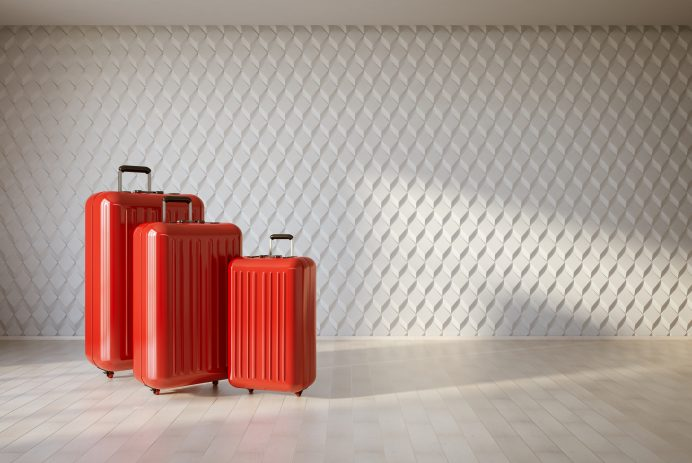 Luggage for more than 50 percent off