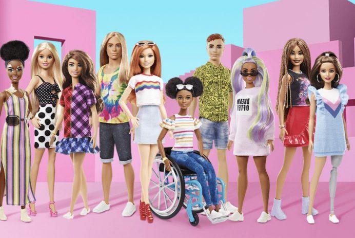 Barbie unveils new doll with vitiligo