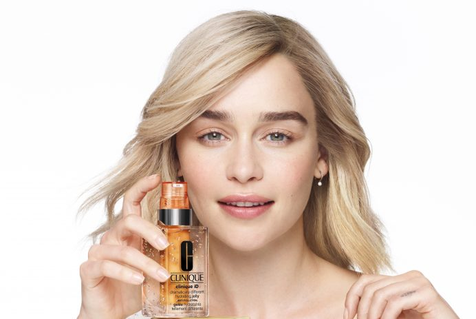 Emilia Clarke is Clinique's first-ever Brand Ambassador