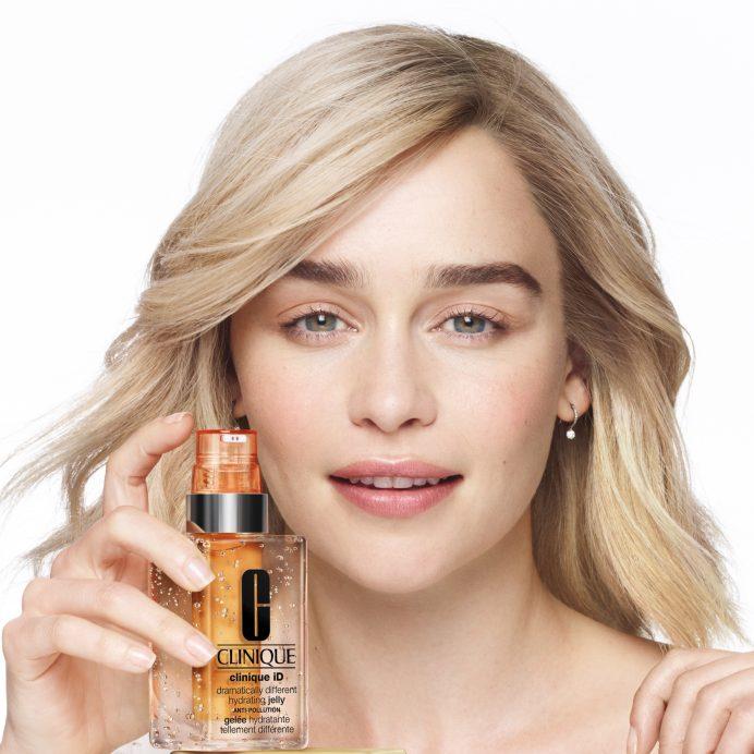 Emilia Clarke is Clinique's first-ever Brand Ambassador