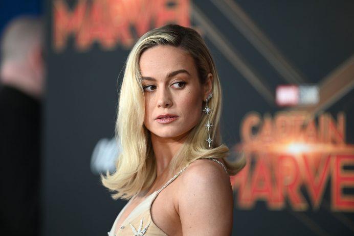 Brie Larson at Captain Marvel premiere