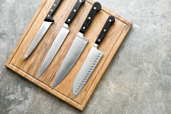 Cuisinart Stainless Steel Hollow Handle 15-Piece Cutlery Knife Block Set with Chef's Bundle