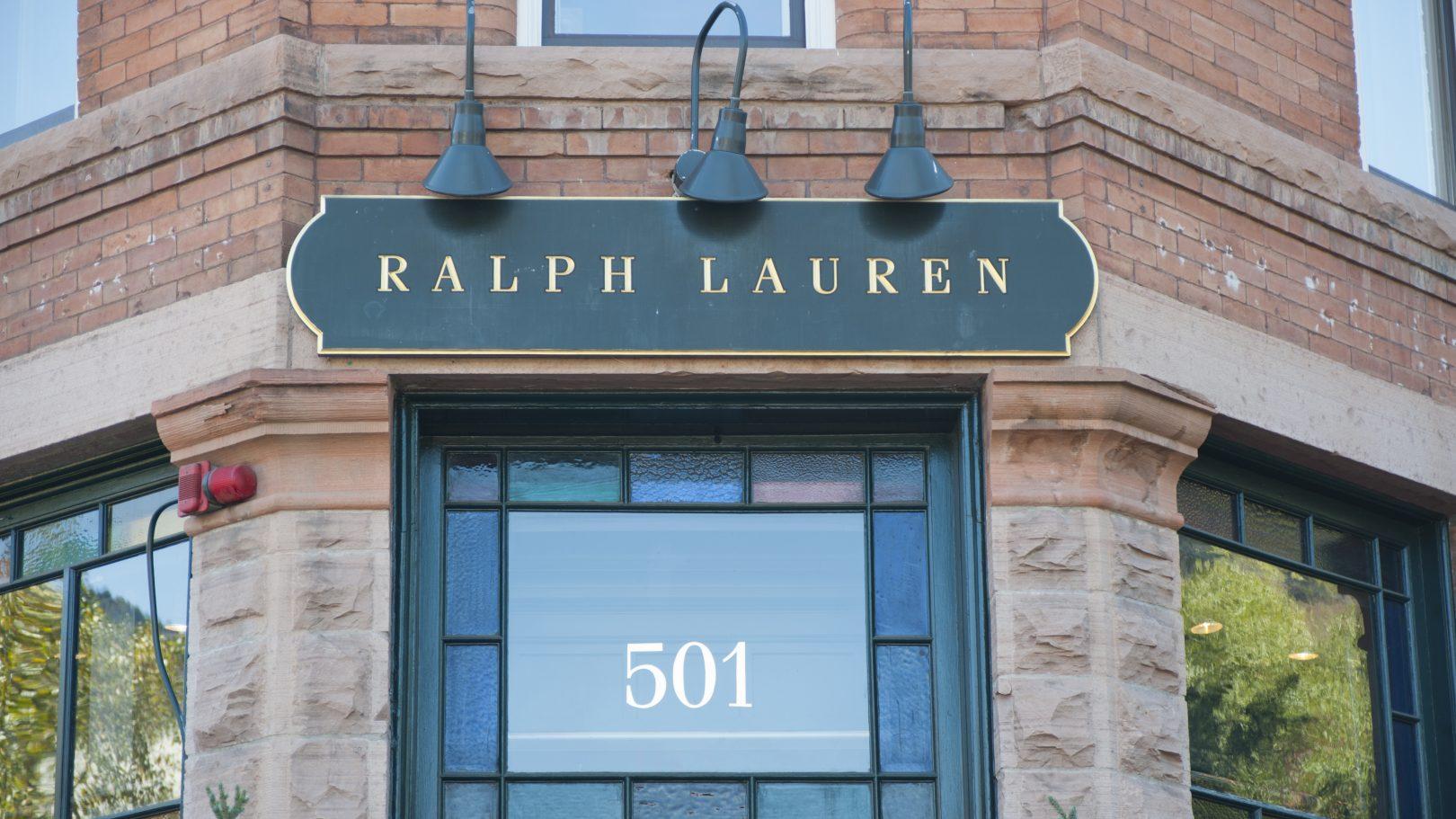 Lauren Ralph Lauren overcoat