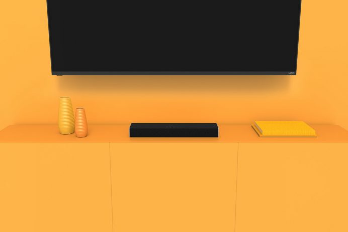 """Vizio 20"""" 2.0 Home Theater Sound Bar with Integrated Deep Bass"""