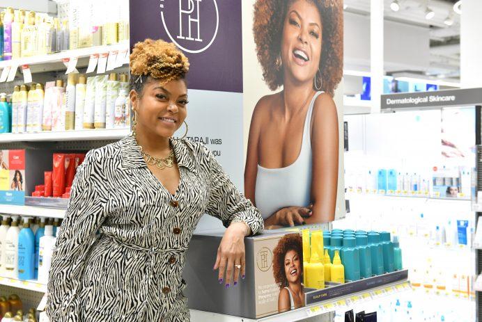 Taraji P. Henson's natural hair care line