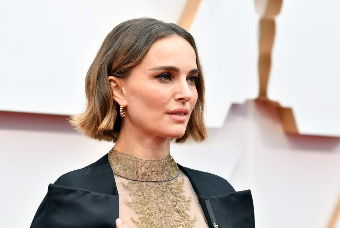 Natalie Portman at the 2020 Oscars