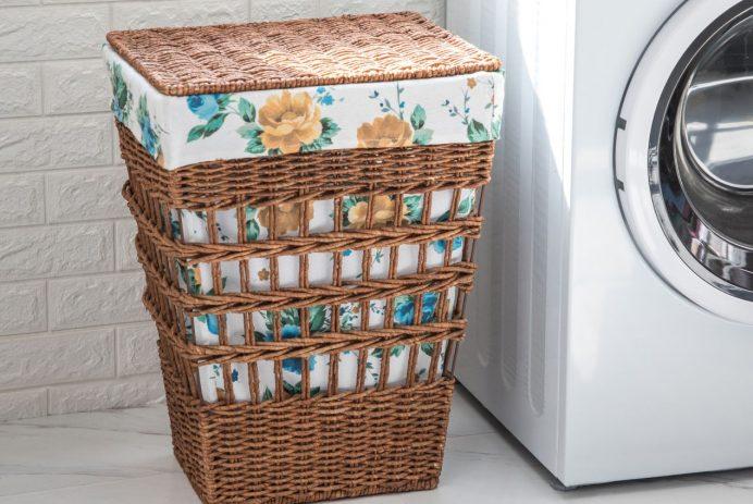 The Pioneer Woman laundry hamper - Credit: Walmart