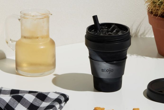 Stojo Collapsible and Reusble to-go coffee cup