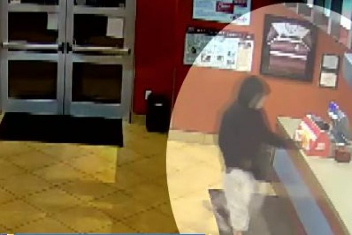 robber at fast food restaurant