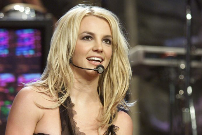 Britney Spears on 'The Tonight Show' in 2003