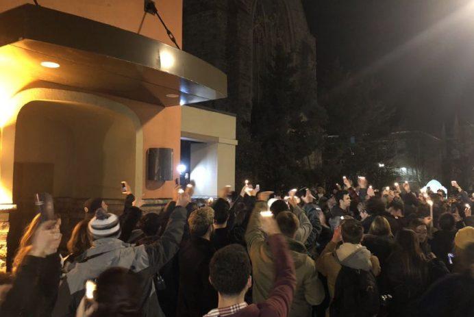Penn State Taco Bell vigil