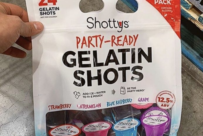 pre-made jell-o shots from costco