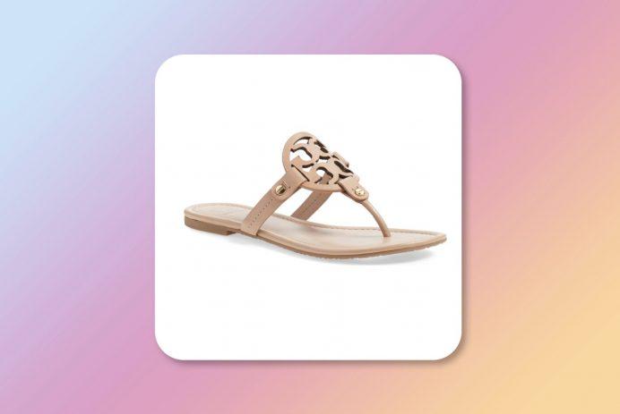 Nordstrom Tory Burch Miller sandals