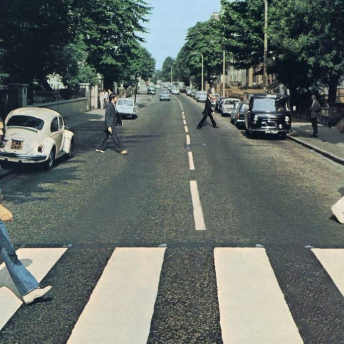 The Beatles cover redesigned