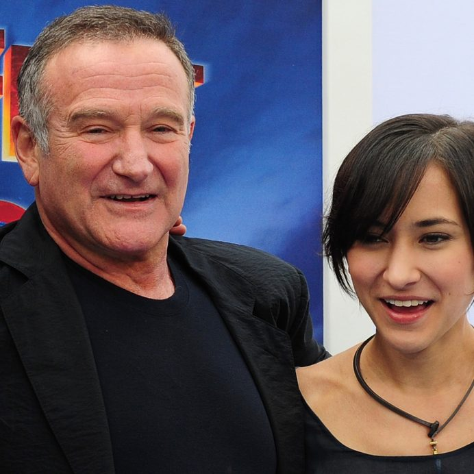 Robin Williams and Zelda Williams