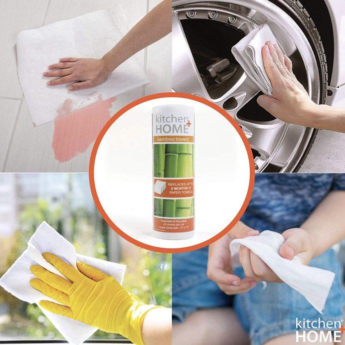 Reusable Bamboo Towels