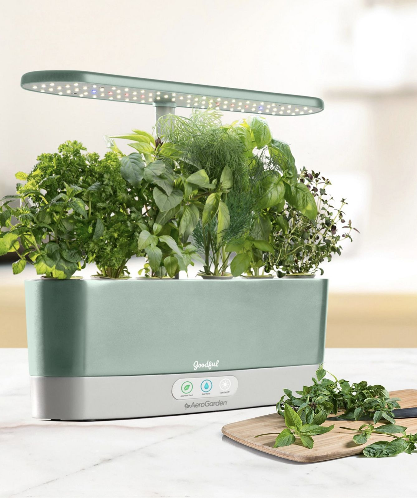 This sleek countertop garden and seed kit set is 3 percent off