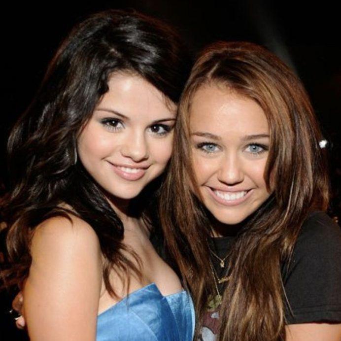 Miley Cyrus Selena Gomez