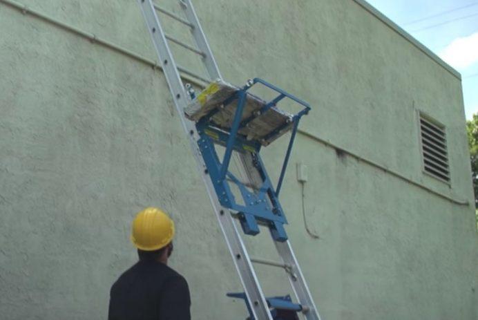 Safety Hoist electric ladder