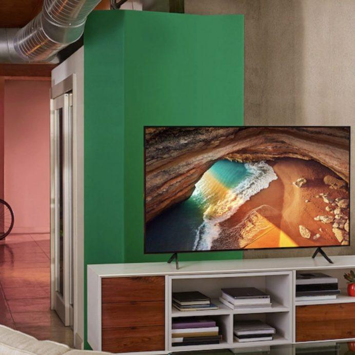 "Samsung 43"" Class Q60R QLED Smart 4K UHD TV"