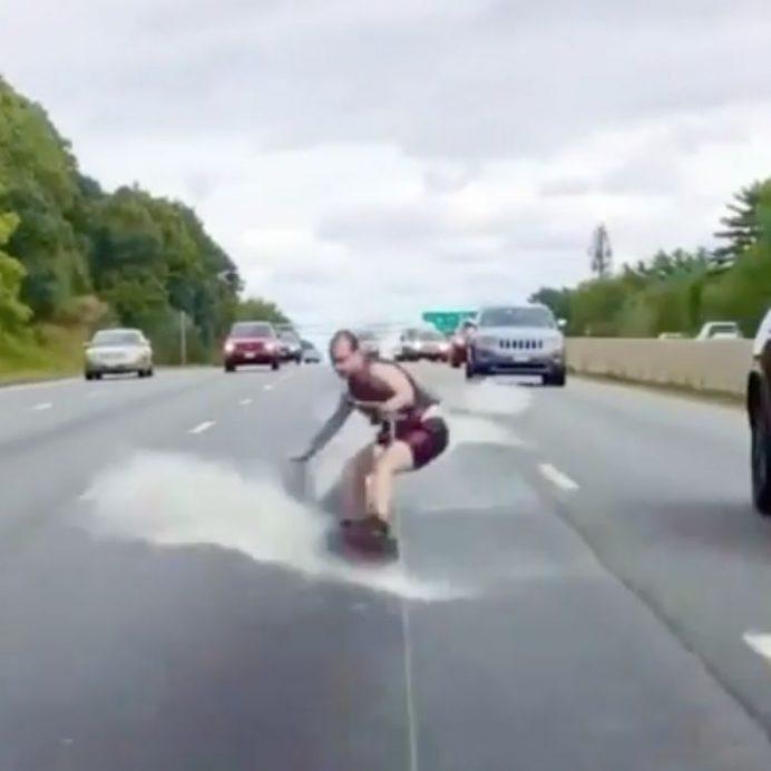 highway wakeboarding