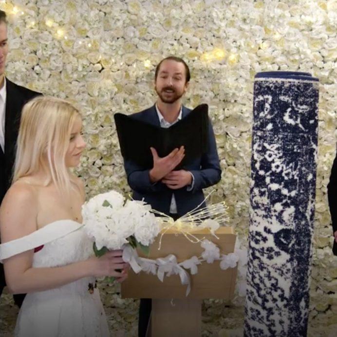 Marrying rug