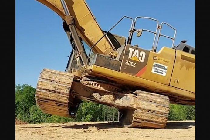 excavator tootsie slide