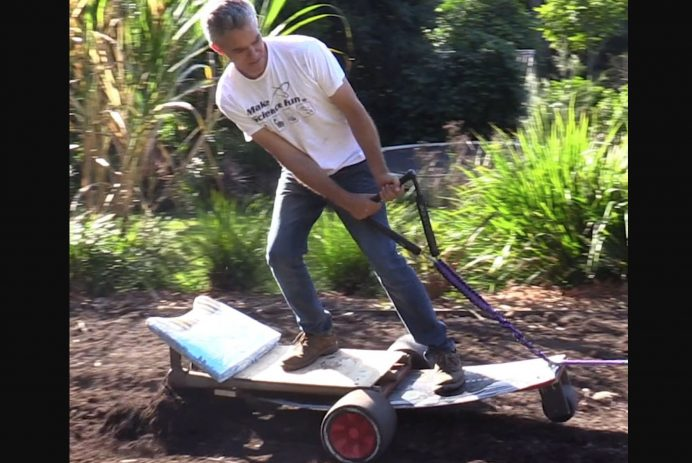 wakeboarding plow