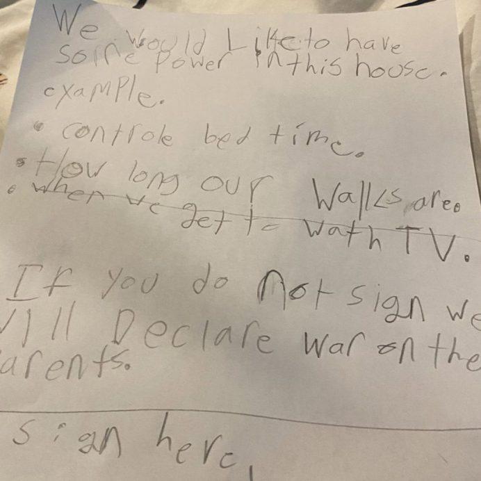 twitter letter from kids