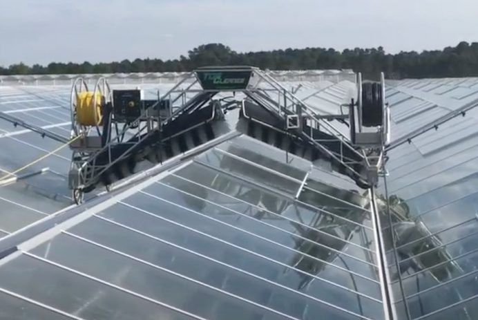 topwasher greenhouse cleaner
