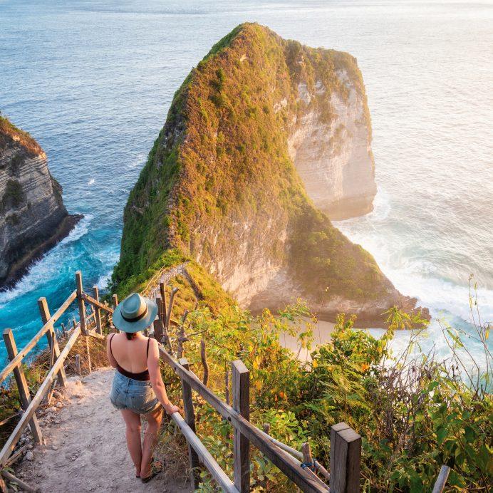 Spiral staircase, Bali