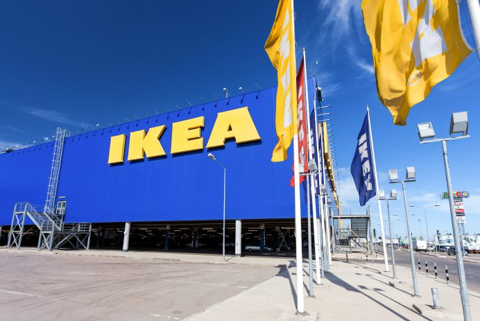 IKEA Samara Store. IKEA is the world's largest furniture retailer and sells ready to assemble furniture
