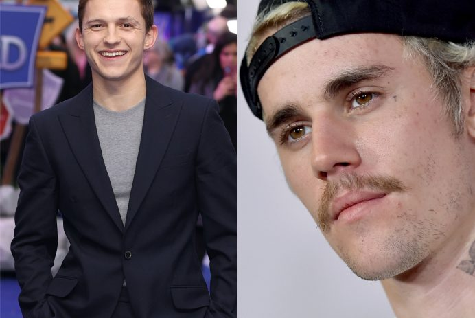 Justin Bieber and Tom Holland