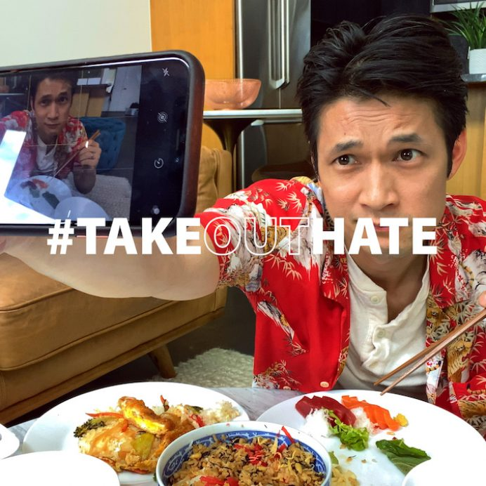 #TakeOutHate campaign