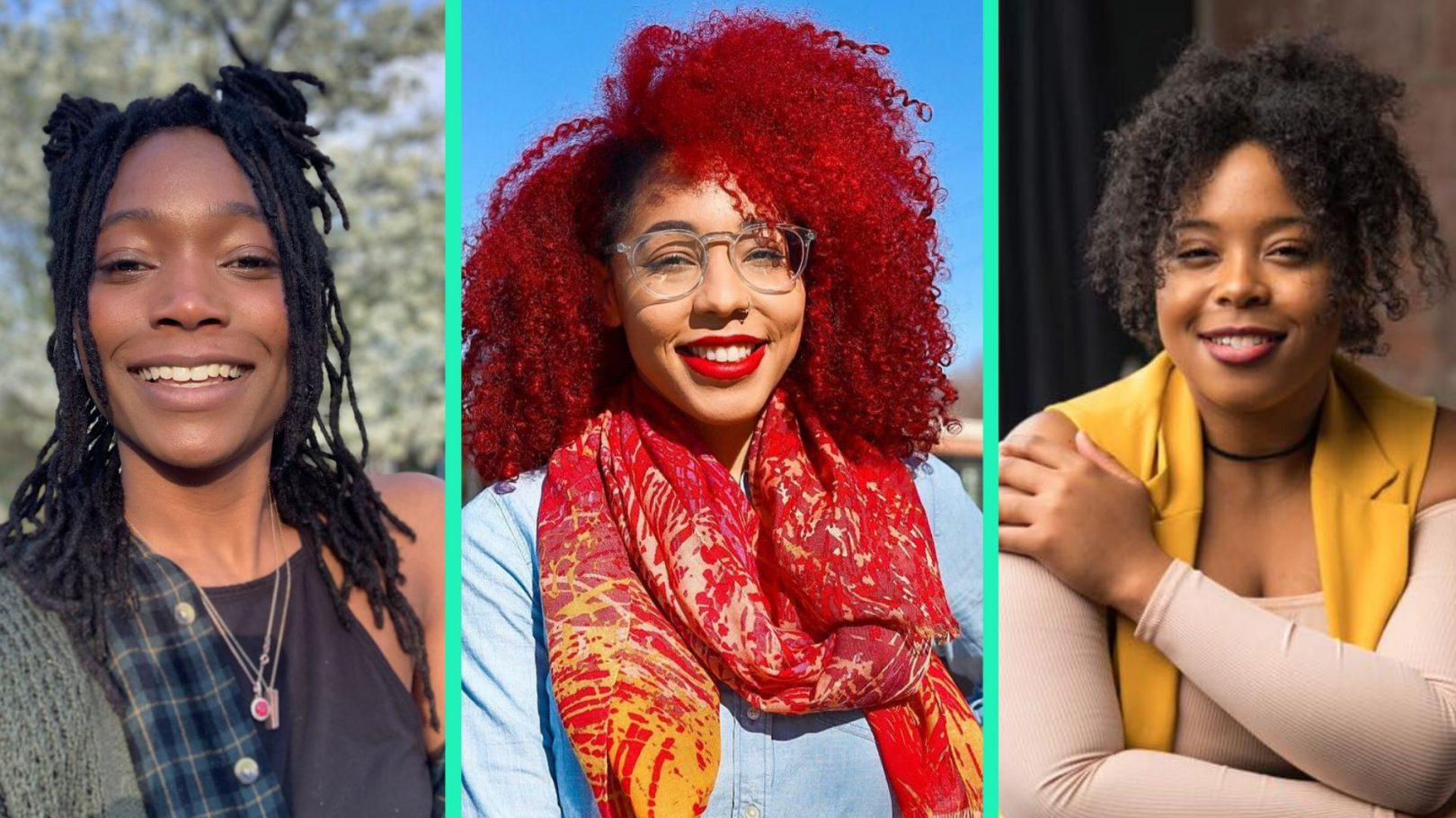 Women Share How They Re Caring For Their Natural Hair While Inside