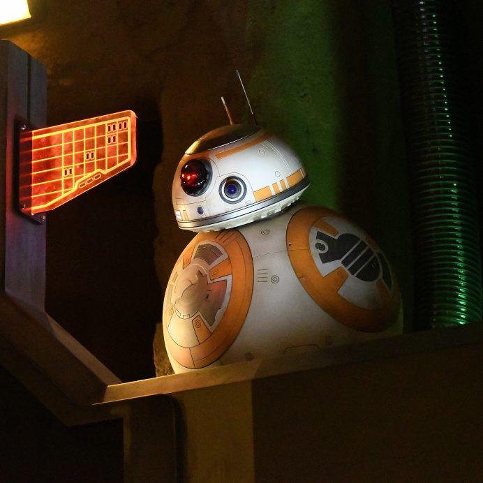 BB-8 at Star Wars: Galaxy's Edge