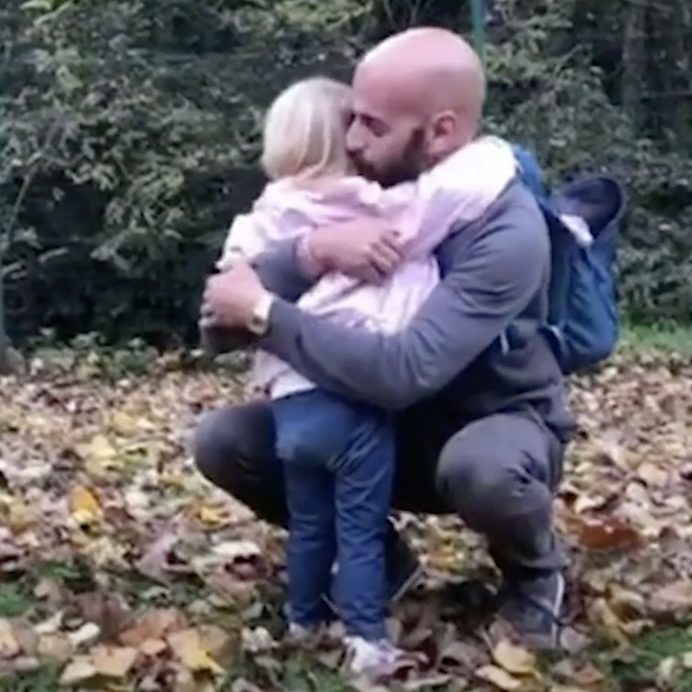 Gay Dad adopts child