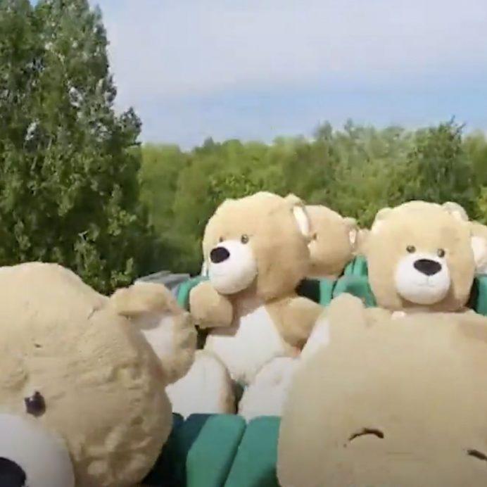 Teddy Bears roller coaster