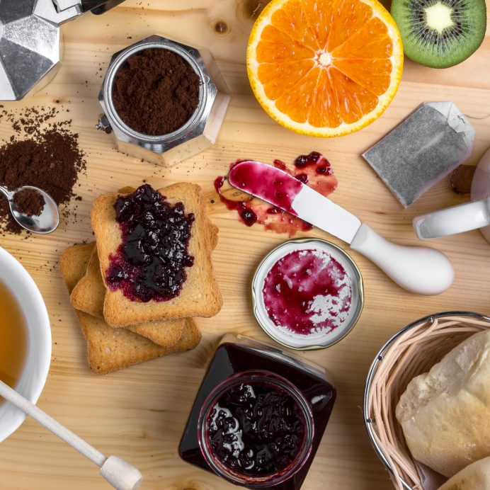 Jam and fruit (Getty Creative)