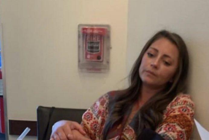 Jason Vicknair's wife waits for shredded cheese