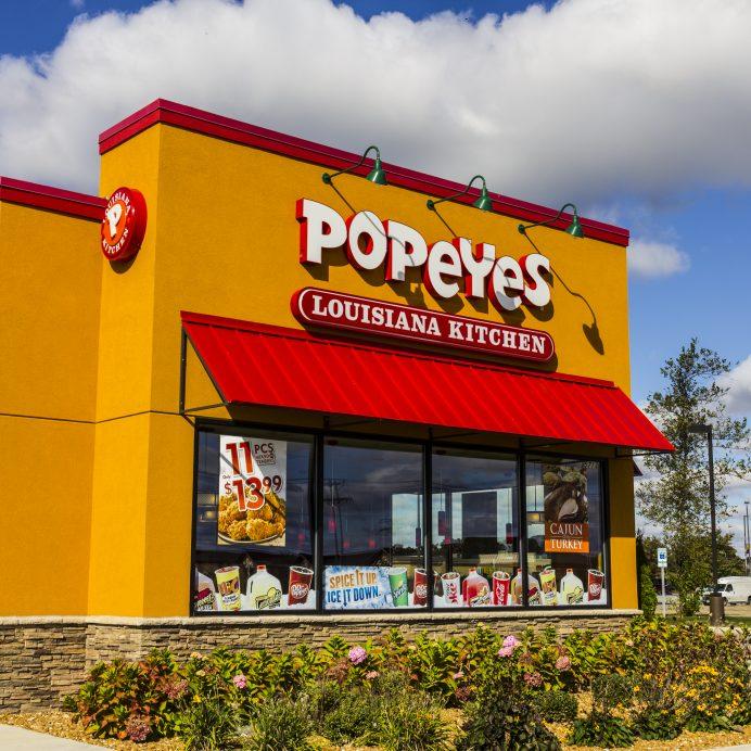 Popeyes Louisiana Kitchen Fast Food Restaurant III