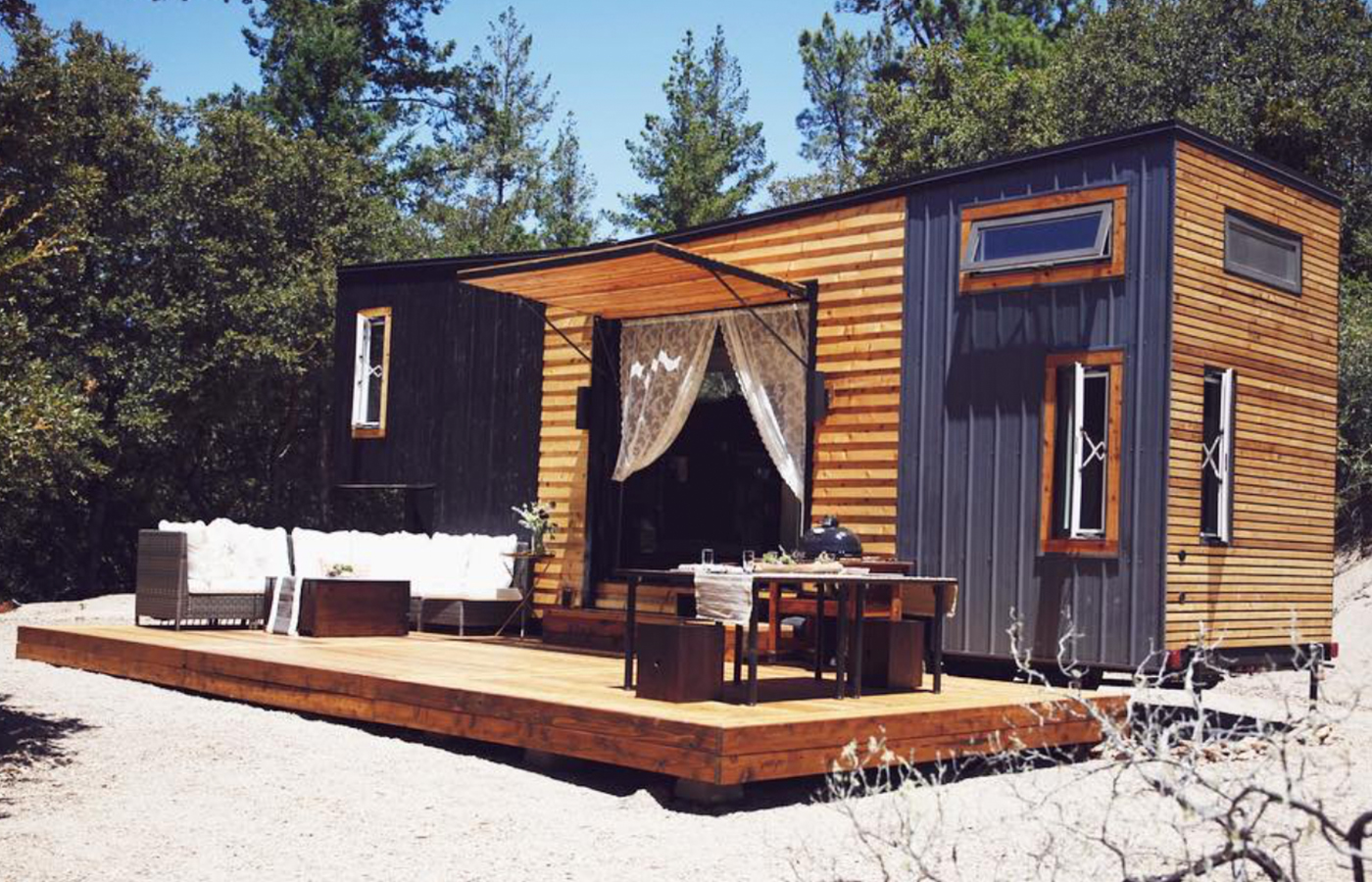 If you want to live in a tiny home, this California couple made it