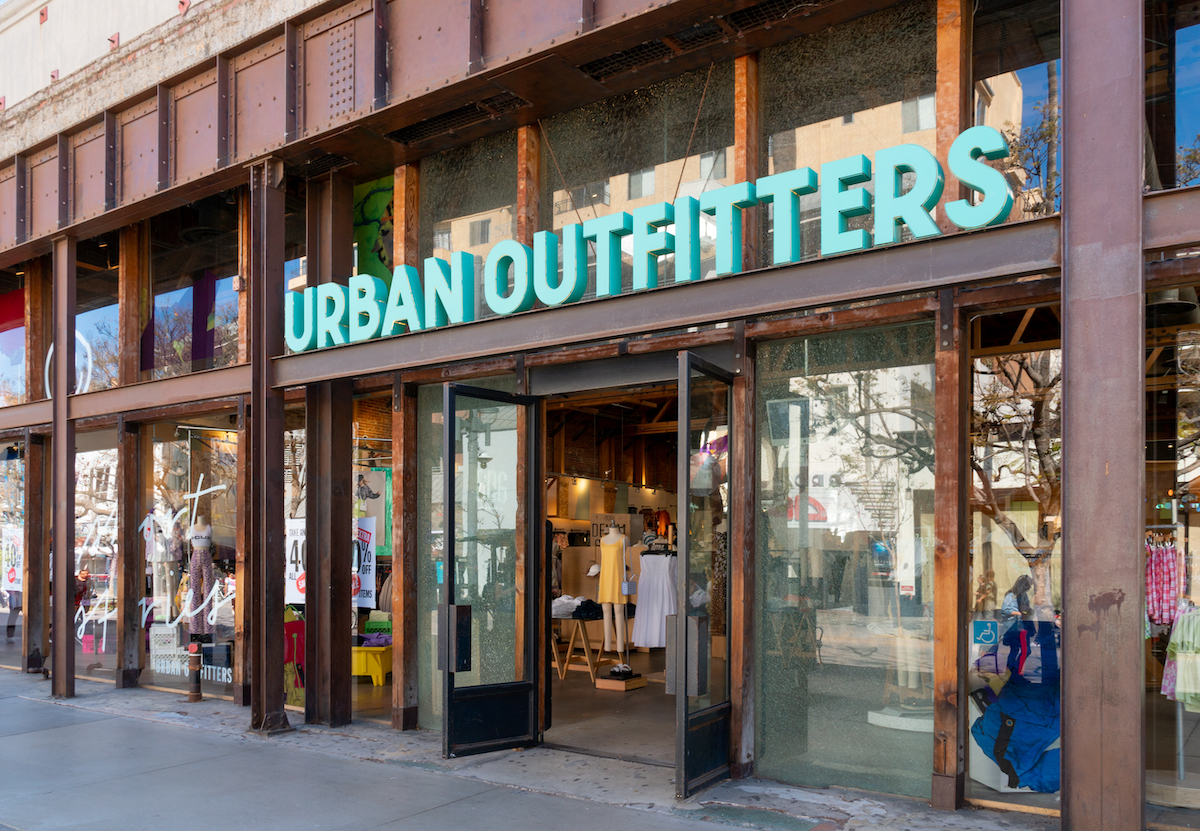 Urban Outfitters shows record turnover   RetailDetail