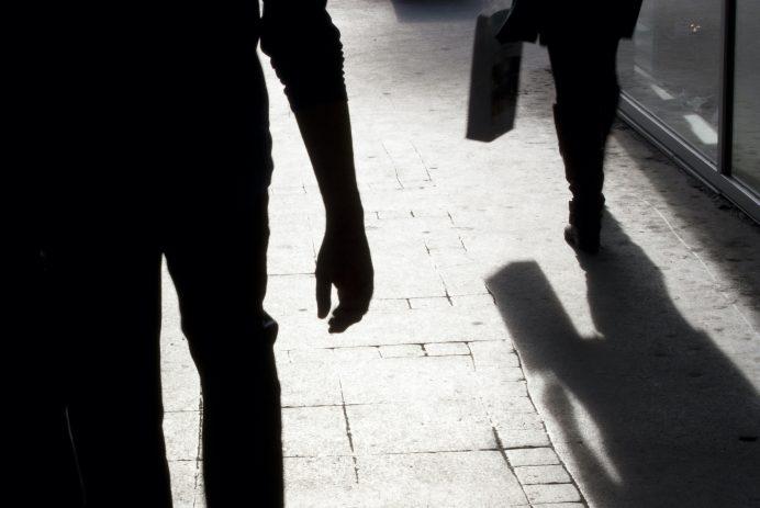 creepy men following